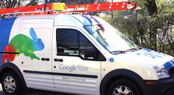 Google Fiber in Mersoft's Back Yard